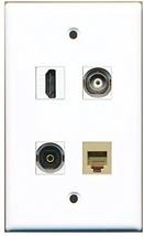 RiteAV  1 Port HDMI 1 Port Phone RJ11 RJ12 Beige 1 Port Toslink 1 Port BNC W... - $20.88