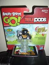 Hasbro Angry Birds Go Kart Telepods Black Bird A6028 - $9.49