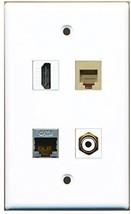 RiteAV  1 Port HDMI 1 Port RCA White 1 Port Phone RJ11 RJ12 Beige 1 Port Shi... - $20.88