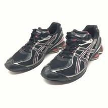 Asics Women Sz 10 Gel Frantic 4 Black/Pink Sneaker Athletic Tennis Train... - $27.49