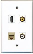 Rite Av  1 Port Hdmi 1 Port Rca White 1 Port Rca Yellow 1 Port Phone Rj11 Rj1... - $20.88