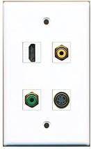 RiteAV  1 Port HDMI 1 Port RCA Yellow 1 Port RCA Green 1 Port S-Video Wall P... - $20.88