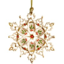 Lenox Holiday 40th Anniversary Snowflake Orname... - $59.35