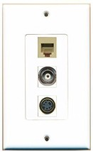 RiteAV  1 Port Phone RJ11 RJ12 Beige - S-Video - BNC Decor... - $14.19