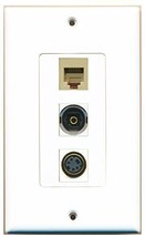 RiteAV  1 Port Phone RJ11 RJ12 Beige - S-Video - Toslink D... - $14.19