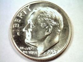 1967 ROOSEVELT DIME SPECIAL MINT SET SMS SUPERB UNCIRCULATED SUPERB UNC.... - $24.00