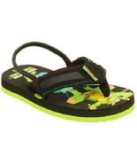 Teenage Mutant Ninja Turtles Toddler Boy's Flip Flop 5-6 7-8 or 9-10  11... - $13.99