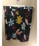 Who What Wear Target Floral Midi Pencil Skirt 20W - $12.59