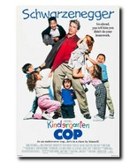 "Kindergarden Cop Movie Poster 24x36"" - Frame Ready - USA Shipped - $17.09"