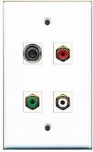 RiteAV  1 Port RCA Red 1 Port RCA White 1 Port RCA Green 1 Port 3.5mm Wa... - $20.88