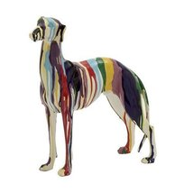 Woodland Imports Abstract and Artistic Polystone Dog Statue [Kitchen] - $136.21
