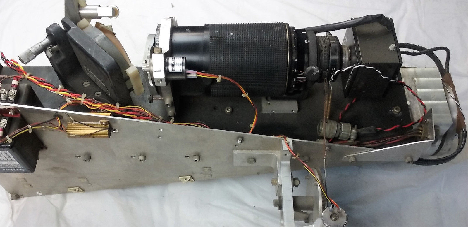 Newport Optical Mount 600A-4 Nikkor 80-200mm Lab Equipment Laser Photonics Lens image 5