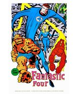 "Marvelmania 24 x 36 Reproduction Character Poster ""The Fantastic Four"" - $45.00"