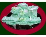 Green crochet booties w headband thumb155 crop