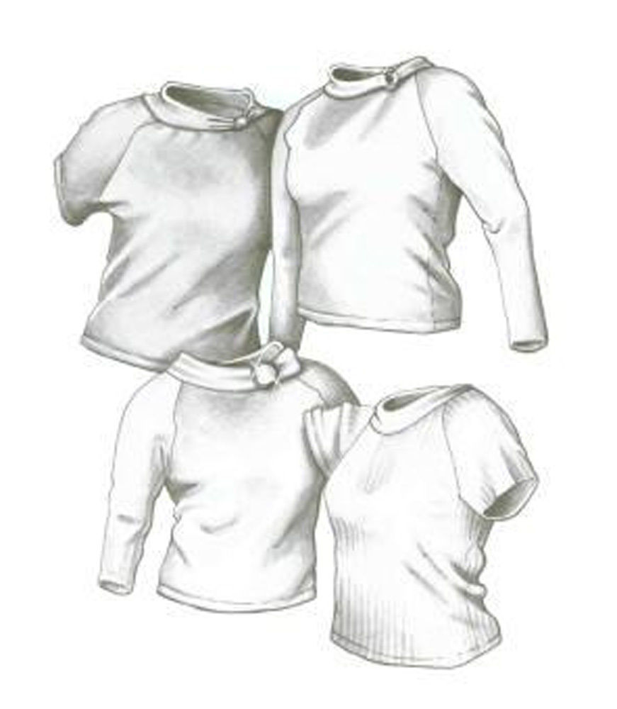 Primary image for Great Copy 2400 Raglan Tops Sewing Pattern (Pattern Only)