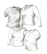 Great Copy 2400 Raglan Tops Sewing Pattern (Pattern Only) - $5.97