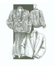 Great Copy 805 Blanket Jacket Sewing Pattern (Pattern Only) - $10.00