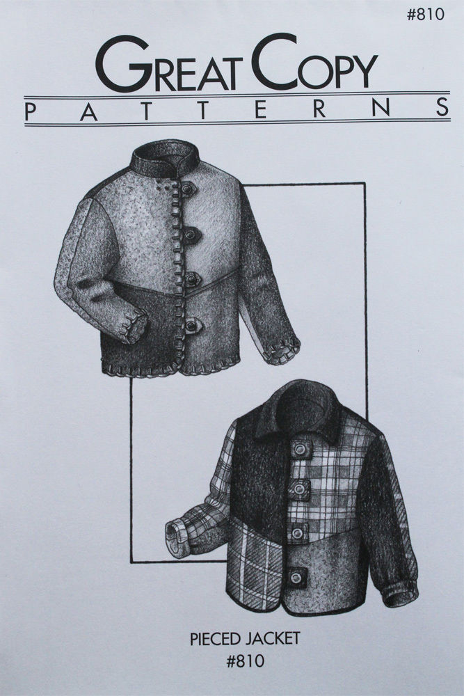 Primary image for Great Copy 810 Pieced Jacket Sewing Pattern (Pattern Only)