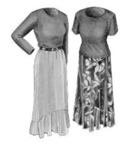 Great Copy 2120 Last Tango Skirt & Top Sewing Pattern (Pattern Only) - $10.00