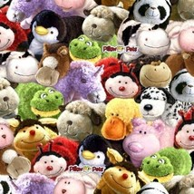 Pillow PetsTM Pet Heads Fleece Fabric Print by the Yard A331.06 - $12.97