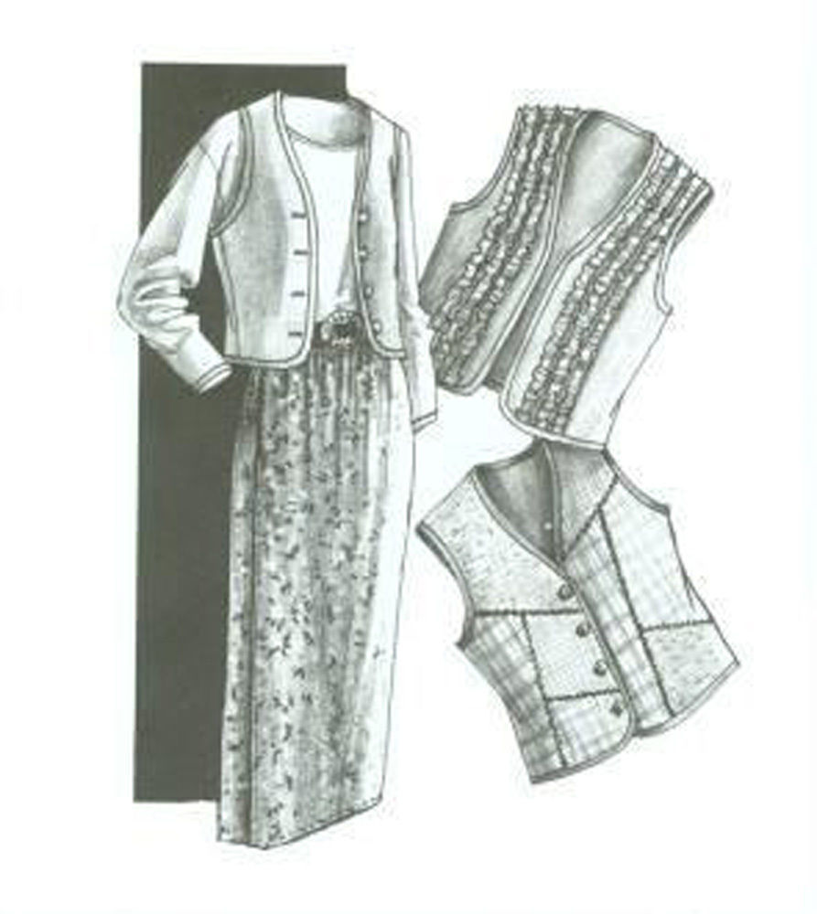 Primary image for Great Copy 105 The Best Vest and Formula Wrap Skirt Sewing Pattern