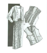 Great Copy 105 The Best Vest and Formula Wrap Skirt Sewing Pattern - $10.00