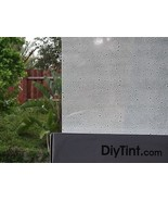 "FROSTED WATER DROPS partial decorative privacy glass film 20""X60"" deco - $19.78"
