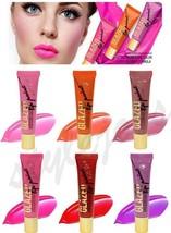 LA Girl Lip Glazed Paint Gloss - 6 PCs Full Set of Bright Vivid Color Li... - $10.63