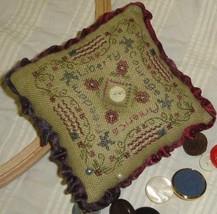 Liberty Pincushion kit cross stitch Shepherd's Bush - $20.00