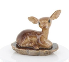 Hagen Renaker Miniature Tiny Deer Baby on Base Stepping Stones #2757