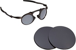 New Seek Optics Replacement Lenses Oakley Madman   Polarized Black Iridium - $22.75