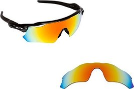 New Seek Optics Replacement Lenses Oakley Radar Ev Path   Polarized Red Mirror - $25.23