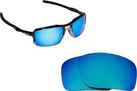 New SEEK OPTICS Replacement Lenses Oakley TRIGGERMAN - Polarized Blue Mi... - $19.29