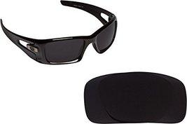 New Seek Optics Replacement Lenses Oakley Crankcase   Polarized Black - $21.27