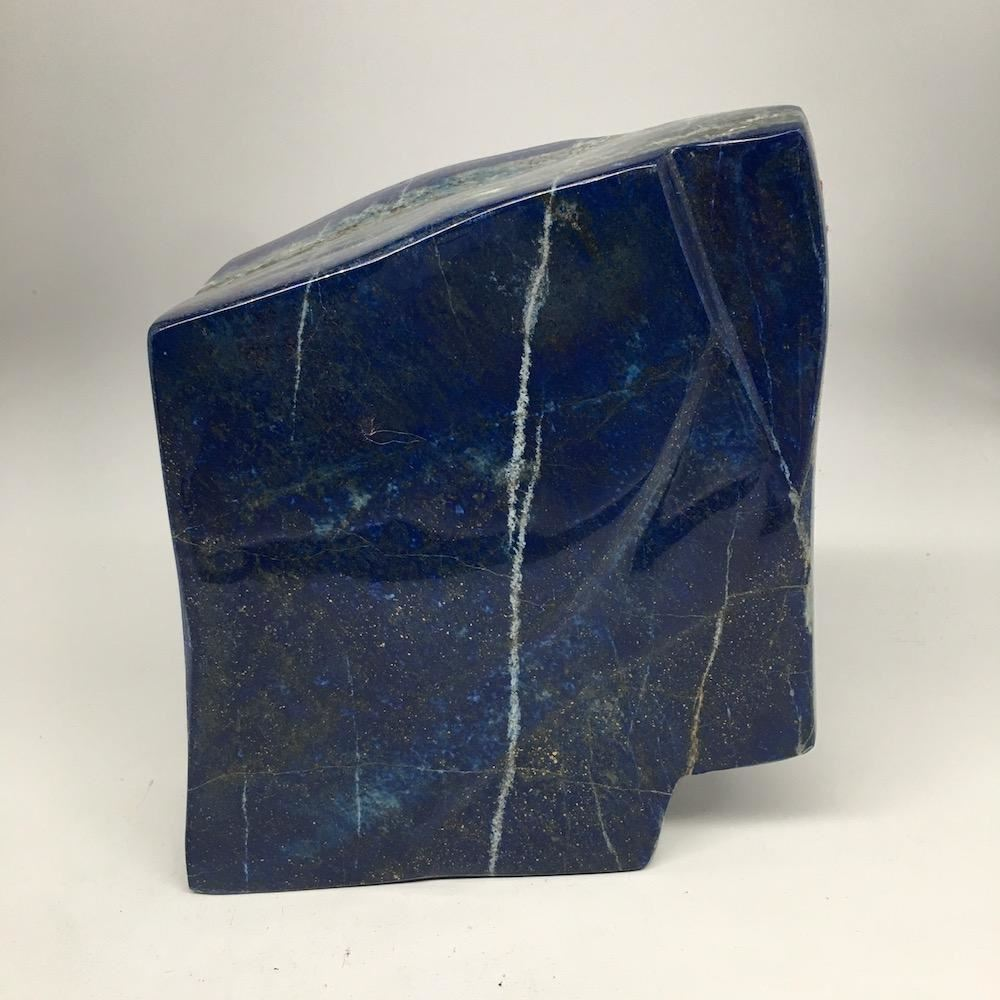 """Copy of 7""""x6.25"""", 3486g, Natural Polished Lapis Lazuli  Free Form @Afghanistan,P"""