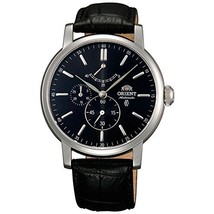 Orient FEZ09003B0 Automatic Stainless Steel Case Black Calfskin Synthetic Sap... - $329.80