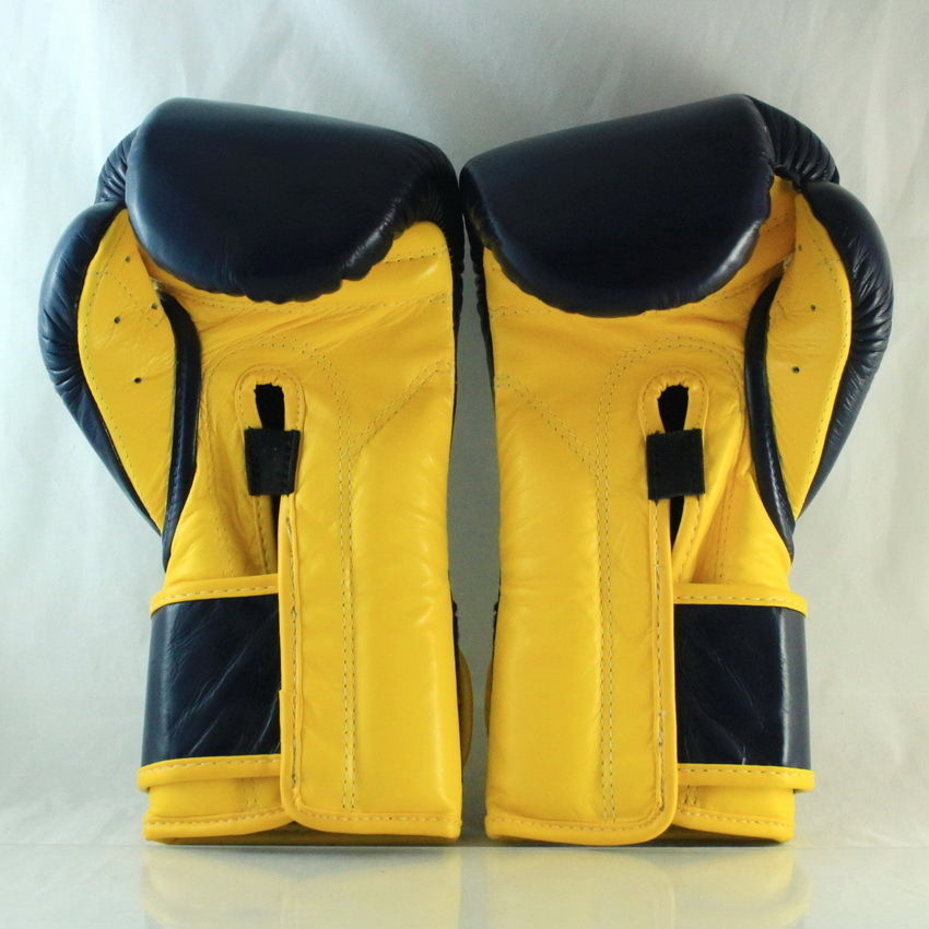 YELLOW PRO TRAINING MEXICAN STYLE FAIRTEX MUAY THAI KICK BOXING MMA GLOVES