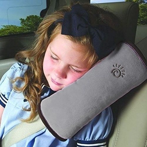 Children Safety Soft Headrest Neck Support Pillow for Car Safety Seatbelts