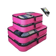 Packing Cubes 5 pc Luggage Set Organizer (Pink) - $49.49