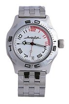 Vostok New Amphibian 100472 Russian Automatic Divers Wrist Watch 200m Au... - $73.72