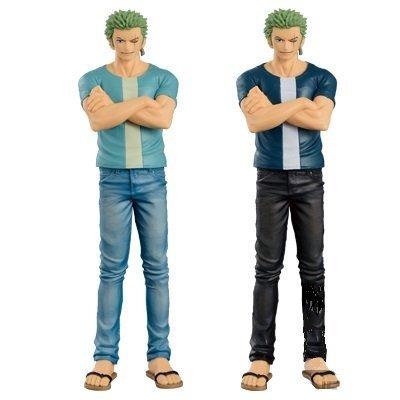 ONE Stück Anime & Manga King Of Artist Jeans Freak Trafalgar Law blau Pvc Figure Banpresto