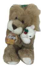 """Vintage Commonwealth The Lion And The Lamb 12"""" Plush 1994 Sitting - $39.59"""