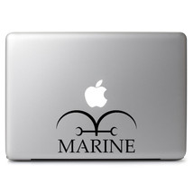 One Piece Marine Symbol for Apple Macbook Air / Pro Laptop Vinyl Decal Sticker - $4.99+