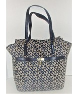 New Tommy Hilfiger Navy Blue /Beige large handbag  - $39.00