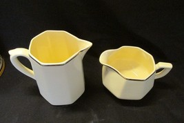 Homer Laughlin Ivory  Creamers Set of Two E 34 N4 - $9.99