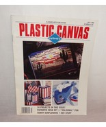Plastic Canvas Corner Magazine July 1992 24 Designs Sunflowers Patriotic - $4.95