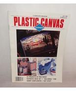 Plastic Canvas Corner Magazine July 1992 24 Designs Sunflowers Patriotic - $4.95