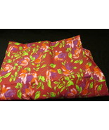 Handmade Crib Fitted  Sheet 100% cotton -Red Au... - $8.00