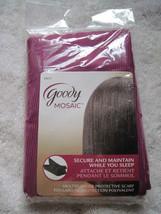 Goody Mosaic Multipurpose Protective Scarf Secure Maintain While Sleep Maroon - $9.00
