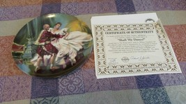 "The King And I Collector Plate ""Shall We Dance""  1985 - $4.99"